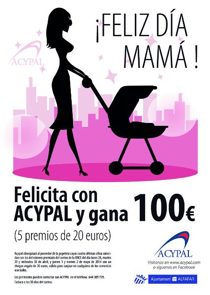 Cartel Día de la Madre 2014