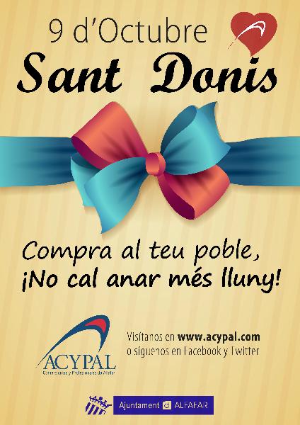 Cartel Sant Donis 2014