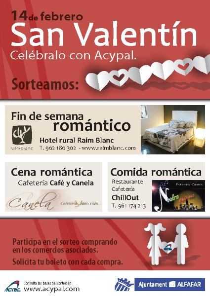 Cartel San Valentín 2014