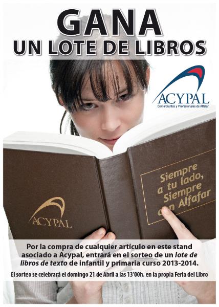 Cartel Feria del Libro 2013
