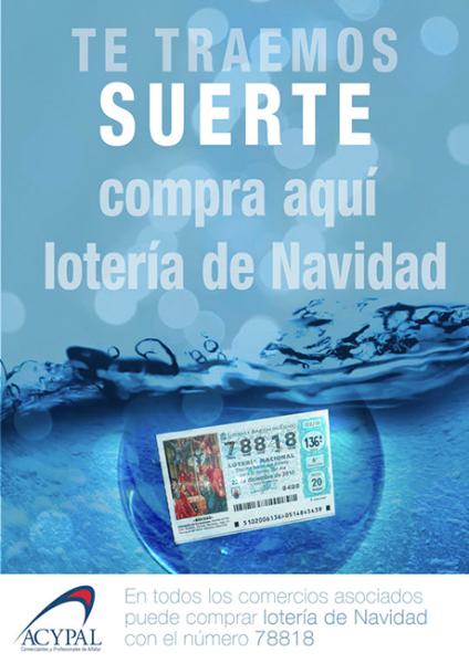 Cartel Lotería Navidad 2014